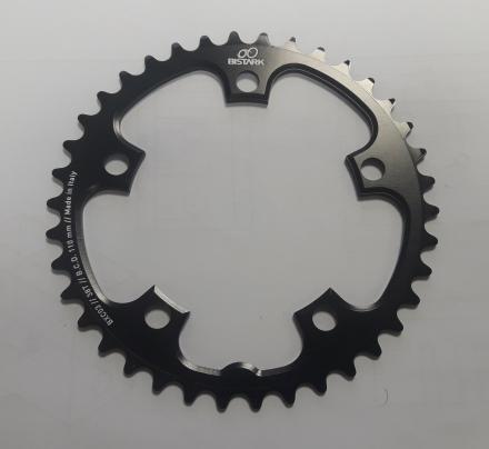 BXC03 - Monocorona 38T, B.C.D. 110 mm per ciclocross dente Wide Narrow